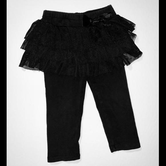 be47c23f2f10a The Children's Place Bottoms | Baby Girls Black Tutu Ballet Skirt ...